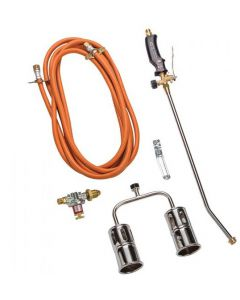 600mm Twin Head Gas Torch With Regulator GT6002