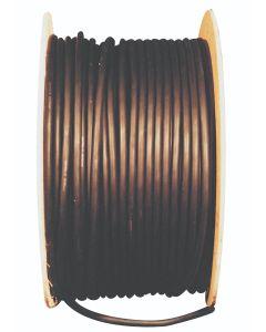 HO7RNF 2 Core 1mm x 100 Metres Black Rubber Cable H0712C